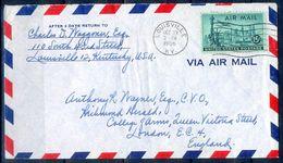 G284- USA United States Postal History Cover. Post To U.K. England. - United States