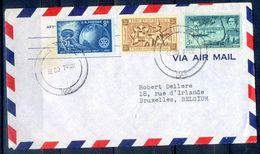 G285- USA United States Postal History Cover. Post To Belgium. Sea Life. Ship. - United States