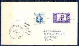 G289- USA United States Postal History Cover. Post To Sudan. - United States