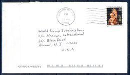 G293- USA United States Postal History Cover. Christmas. - United States