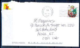 G294- USA United States Postal History Cover. Christmas. - United States