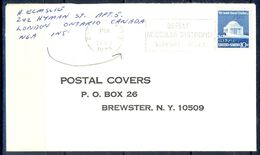 G295- USA United States Postal History Cover. - United States