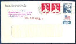 G299- USA United States Postal History Cover. Flag. - United States