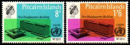 03402 Pitcairn 61/62 OMS Organização Mundial Da Saúde NNN - Briefmarken