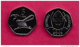 BOTSWANA, 2013, 1 Off Nicely Circulated Coin, 5 Thebe, C3401 - Botswana