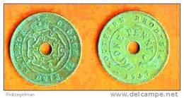 SOUTH RHODESIA 1943-47 Coin 1 P Bronze KM8a C176 - Rhodesia