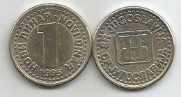 Yugoslavia 1 Novi Dinar 1995. XF+  KM#165 - Yougoslavie