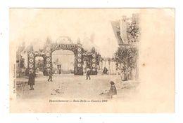 """CPA 18 HENRICHEMONT Bois Belle Comice 1902 Animation Décoration """" Vive Bois Belle"""" Maisons Précurseur RARE - Henrichemont"""