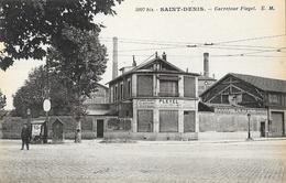 St Saint-Denis - Carrefour Pleyel - Fabrique De Pianos, Clavecins - Carte E.M. Non Circulée - Saint Denis