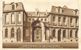 Caisse D'Epargne & De Prévoyance De Paris - Caisse Centrale, Rue Du Louvres - Carte Non Circulée - Banks
