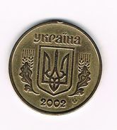 ) OEKRAÏNE  1 HRYVNIA  2002 - Ukraine