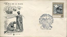 23297 Argentina,  Fdc   1964  Colon,  Columbus  Coulomb - Christophe Colomb