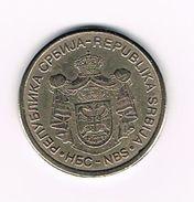 )  SERVIË  10  DINAR 2005 - Serbie