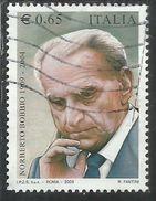 ITALIA REPUBBLICA ITALY REPUBLIC 2009 NORBERTO BOBBIO USATO USED OBLITERE´ - 6. 1946-.. Republic