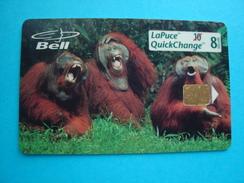 CANADA USED CARDS ANIMALS GORILA - Canada