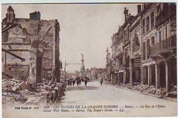 51. REIMS . GUERRE 1914.1918 . LES RUINES DE LA GRANDE GUERRE . RUE DE L'ETAPE - Reims