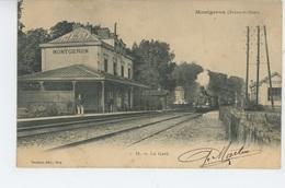 MONTGERON - La Gare (arrivée Train ) - Montgeron