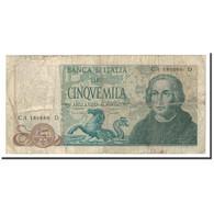 Italie, 5000 Lire, 1971-1977, KM:102a, 1971-05-20, B+ - 5000 Lire