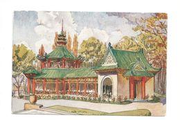 Indochine Exposition Coloniale 1931 Restaurant Colonies Françaises  140 X 90 Mm Bien 2 Scans - Ausstellungen