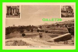 BAALBEK, SYRIE - L'ENTRÉE DE LA VILLE - 3 MULTIVUES - COLLECTION ORIENT-MONUMENTS - - Syrie