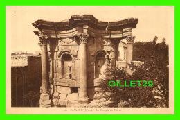 BAALBEK, SYRIE - LE TEMPLE DE VÉNUS - COLLECTION ORIENT-MONUMENTS - PALMYRA HOTEL - SÉRIE C - - Syrie