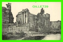 BAALBECK,  SYRIE - TEMPLE DU SOLEIL - DOS VERT - - Syrie
