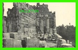BAALBECK,  SYRIE - TOUR D'ANGLE DES PROPYLÉES - DOS VERT - - Syrie