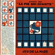 Jeu De La Mare Offert Par La Pie Qui Chante - Planche Publicitaire à Découper - Advertising