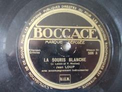 78T - La Fille Du Maire Et La Souris Blanche Par Jean Loup - 78 Rpm - Schellackplatten