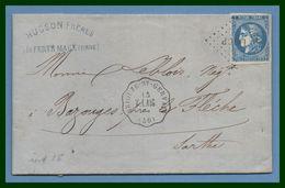 LAC Convoyeur Station Briouze St Gervais V.LAIG (59) N° 45 Los. LAIG.P 5 /1871 (ind 16) - Poststempel (Briefe)
