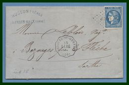 LAC Convoyeur Station Briouze St Gervais V.LAIG (59) N° 45 Los. LAIG.P 5 /1871 (ind 16) - Posta Ferroviaria