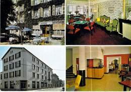 52 - BOURBONNE LES BAINS : Hotel Jeanne D'Arc - CPSM GF écrite 1972 - Haute Marne - Bourbonne Les Bains