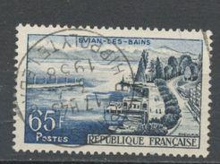 """FRANCE - EVIAN - N° Yvert 1131 Belle Obliteration Ronde De """"PARIS"""" De 1958 - France"""