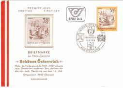 TY82    FDC 1978 - Mi.1581   Freimarke : Schönes Österreich Oberwart - 1971-80 Cartas
