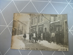 Ancienne CPA Photo Rare De Pierrelatte - France
