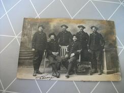 Ancienne CPA Photo Guerre De 1914-1918 , 13 Et 14 ème Chasseurs - Guerre 1914-18