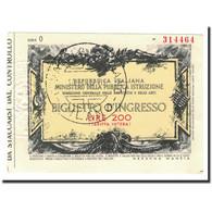 Italie, 200 Lire, NEUF - Andere
