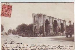 51. REIMS . PORTE MARS . ANIMEE - Reims