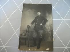 Ancienne CPA Photo Guerre De 1914-1918 , 5 ème Ou 6 ème Chasseurs - Guerre 1914-18