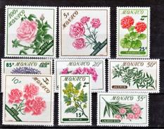 Monaco  514 522 Fleurs Surchargées Neuf Avec Trace De Charnière* TB MH CoN CHARNELA  Cote 14.5 - Neufs