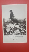 """""""C'est Mon Dernier Pigeon, Raynal"""", Colombogramme Du Cdt Raynal, Défenseur Du Fort De Vaux - Guerre 1914-18"""