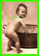 ENFANTS - IL S'EN VA PRENDRE SON BAIN - TAKING THE PLUNGE - PHOTOGRAPHIX UNLIMITED 1992 - - Portraits