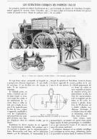 LES EXTINCTEURS CHIMIQUES DES POMPIERS ANGLAIS   1905 - Militaria