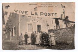 LEVECOURT (52) - LE BUREAU DE POSTE INAUGURE LE 13 SEPTEMBRE 1908 - Autres Communes