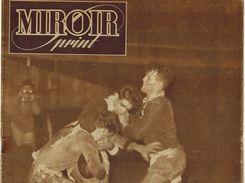 MIROIR SPRINT 1947 N 84 Cerdan Jany Busnel Hansenne Deglane Oubron Dormont Villemain Omar Le Noir Ray Sugar - 1900 - 1949