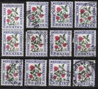 FRANCE  1960 / 1983 - LOT Y.T. N° 101 X 12   - OBLITERES /K295 - Postage Due