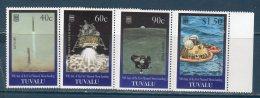 Tulavu 1999  -- 30° Ann. Uomo Sulla Luna  (Yvert 772/775) -- **MNH /VF - Tuvalu