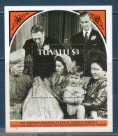 Tulavu 1987  -- 40° Ann. Famiglia Reale   (Yvert BF 28) -- **MNH /VF - Tuvalu