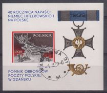 POLONIA 1979 HB-86 USADO - Blocs & Hojas