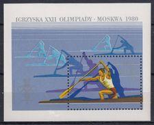 POLONIA 1980 HB-89 NUEVO - Blocks & Sheetlets & Panes